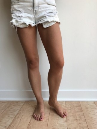cropped legs photo